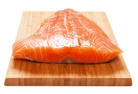 Salmon filet photo