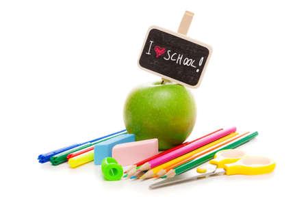 School supplies photo