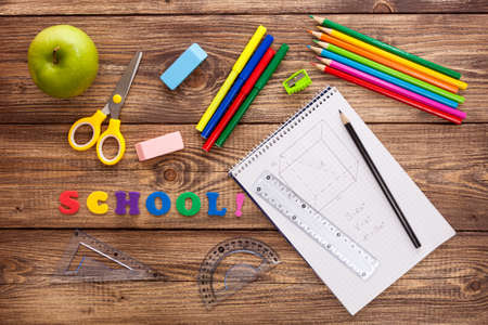 Back to school concept photo