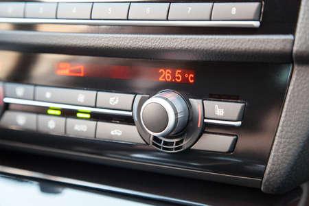Climate control in a modern car photo