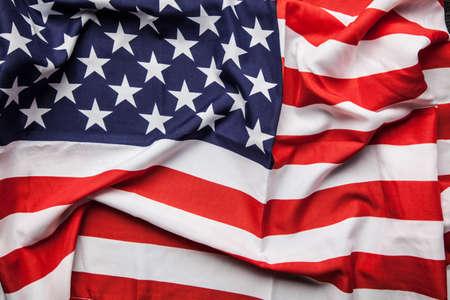 bandera blanca: Bandera de EE.UU. cerca foto