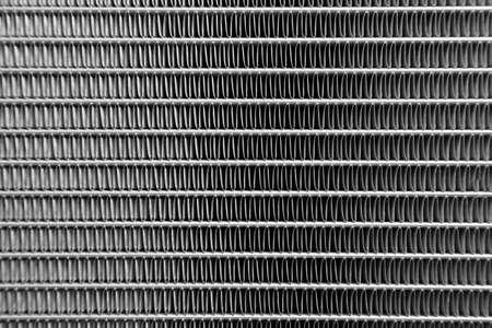 radiador: radiador de coche cerca la textura de la foto Foto de archivo