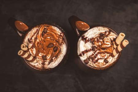 Seasonal hot drink - pumpkin spice latte