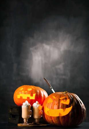 Halloween Jack O Lantern pumpkins