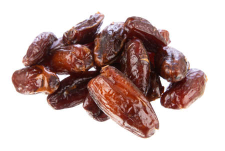 Dates isolated on white background Reklamní fotografie