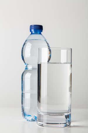 Plastic water bottle Reklamní fotografie