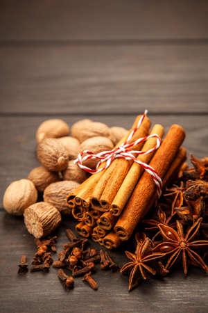 Assortment of spice Stock Photo