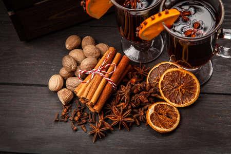 Assortment of spice Imagens