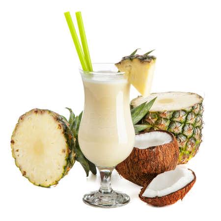 Pina Colada Cocktail Stockfoto