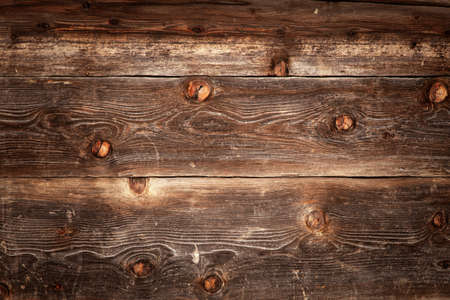 Dark old wooden background texture Banque d'images