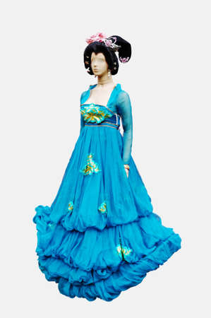 antiquity: Beautiful woman dress of chinese antiquity