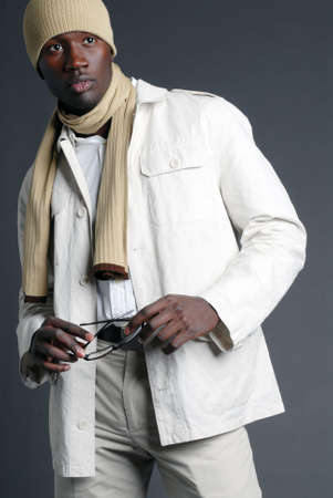 Fashionable African American Male Banco de Imagens - 2583964