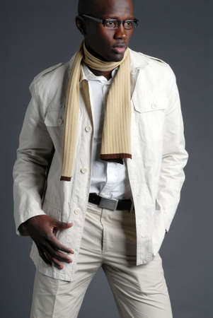 Fashionable African American Male