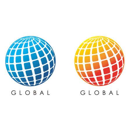 illustration of global design