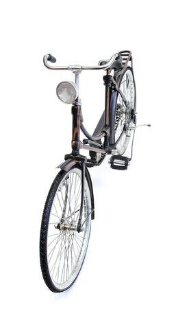 old style bycicle over white Reklamní fotografie - 10745322