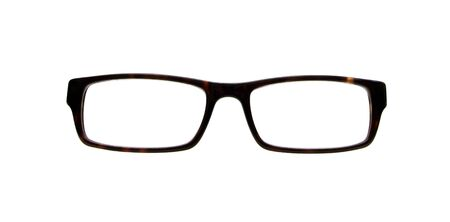 front view: front view of a pair of glasses Stock Photo