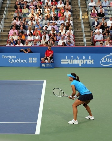 na: na li at the 2012 roger cup final in montreal