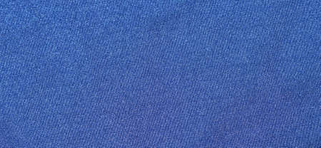 material: macro image of a blue textile material