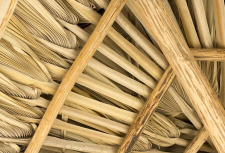 material: closeup of bamboo style material