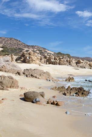 beach of los cabos, mexico Фото со стока