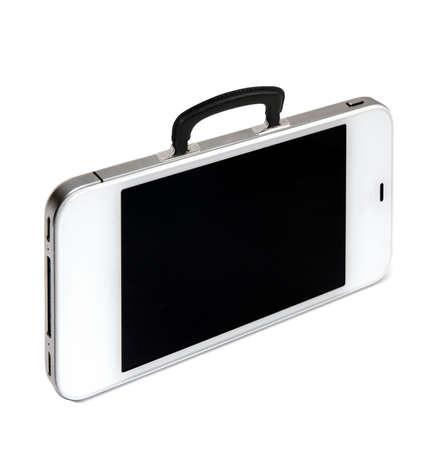 business briefcase: Modern business briefcase