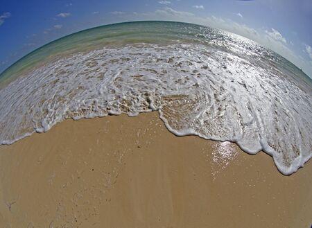 fish eye lens: Seascape taken with fish eye lens