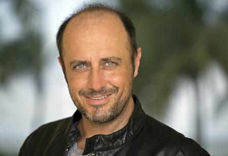 positivity: Handsome mature man portrait Stock Photo