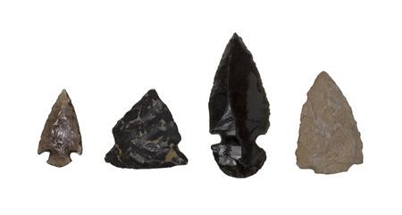 silica: Arrow head made with silica rock