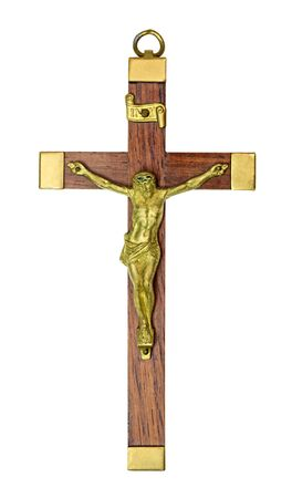 kruzifix: Kruzifix isoliert auf wei� Lizenzfreie Bilder