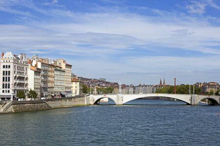 lyon: City of Lyon in France