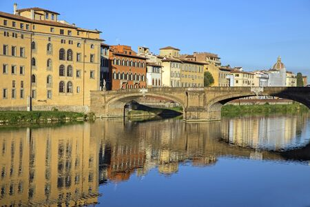 View of Arno river in Florence, Italy