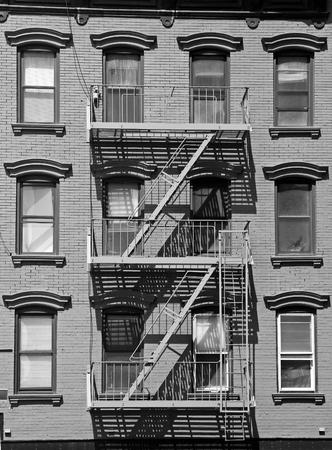 New York city residential detail Stock Photo
