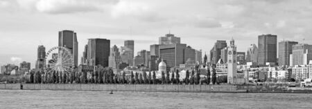 Skyline of Montreal city Фото со стока