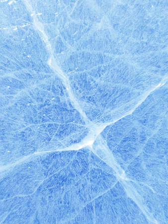 Christmas Ice texture. Abstract blue Christmas Background. Archivio Fotografico