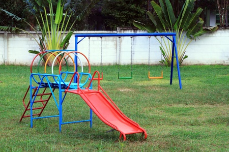 Playground without children photo