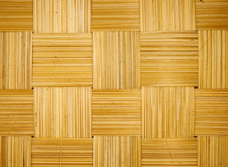 floor mat: close up of bamboo texture