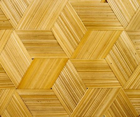 Nahaufnahme von Bambus Textur Standard-Bild