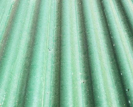 old green metal roof texture photo