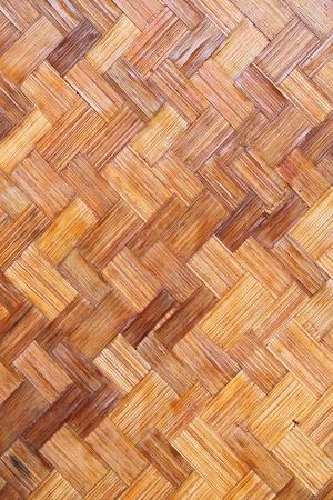 trabajo manual: Textura de madera de bamb�, trabajo hecho a mano de Tailandia