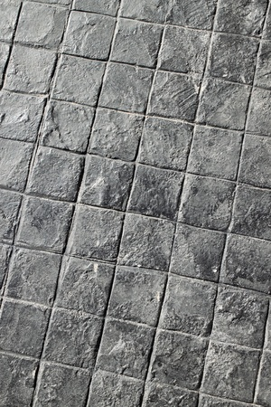 black tile road texture photo
