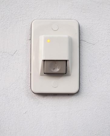 door bell: door bell ring on the wall