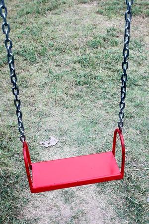 red hanger swing photo