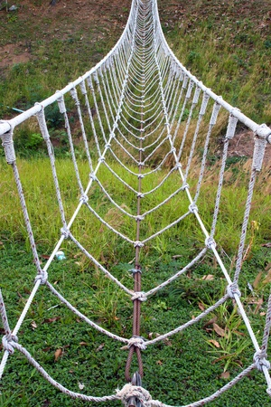 rope bridge: the white rope bridge