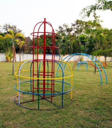 toy of playground without children photo