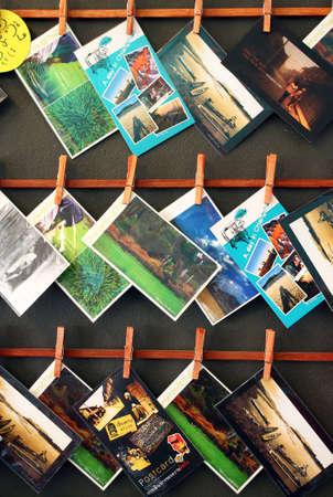 Thailand postcard in postcard shop