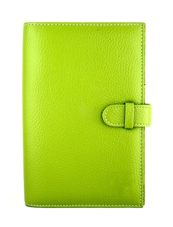 green purse on a white background Stock Photo - 12674033