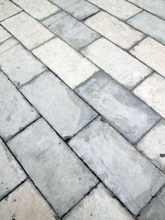 square brick tile walkway background photo