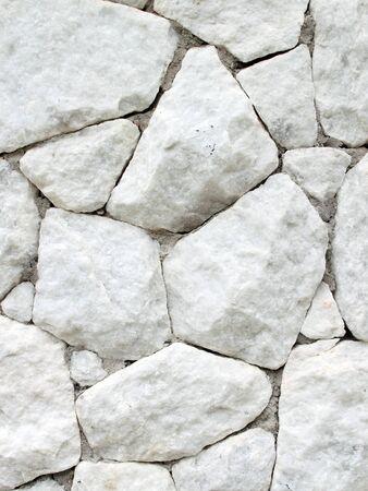 white stone wall texture  background photo