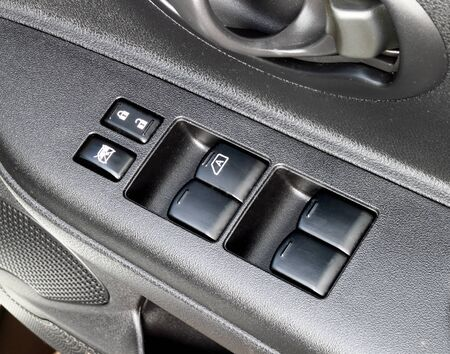panel car control inside the door Stock Photo - 15845762
