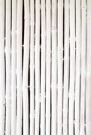 white bamboo wall texture background photo